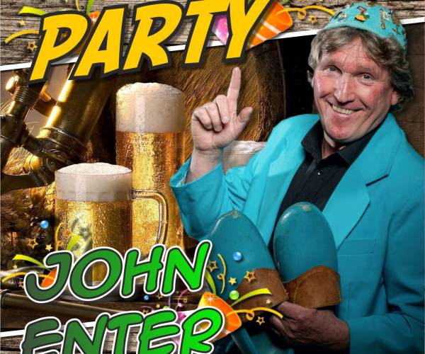 John Enter brengt mini-album en single 'Party' ook uit in Duitsland