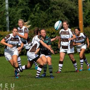 Damesteam van Big Bulls start in rugbycompetitie